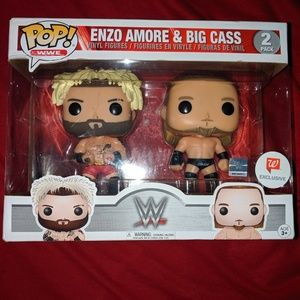 Funko POP! VINYL WWE Enzo Amore and Big Cass 2Pack